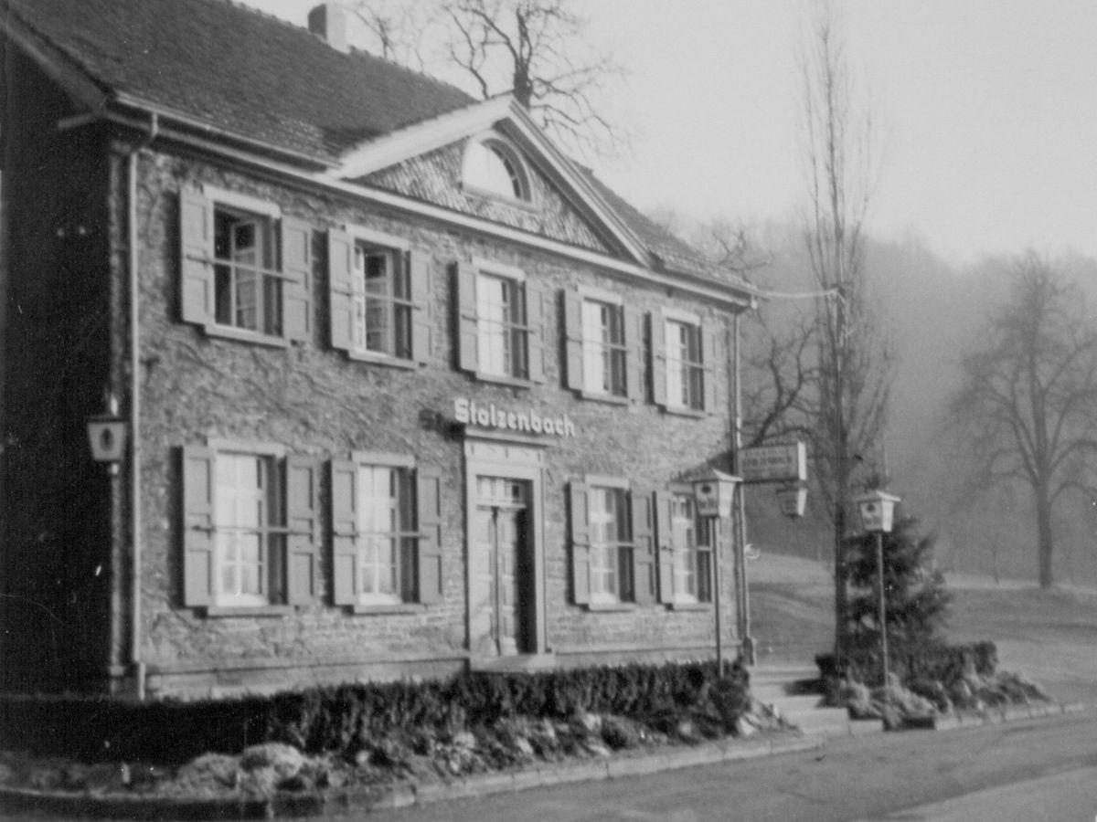 Haus Stolzenbach: historische Ansicht
