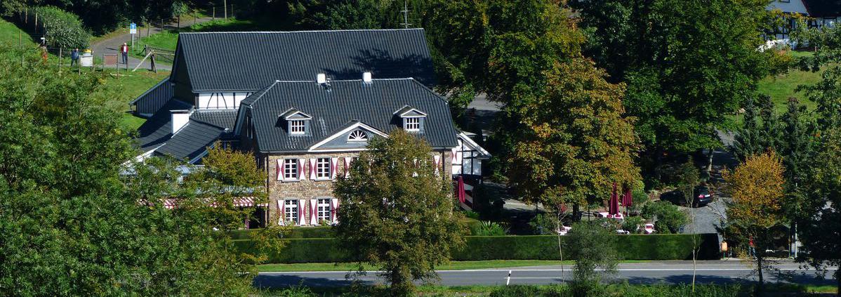 Haus Stolzenbach - das idyllische Restaurant im Aggertal