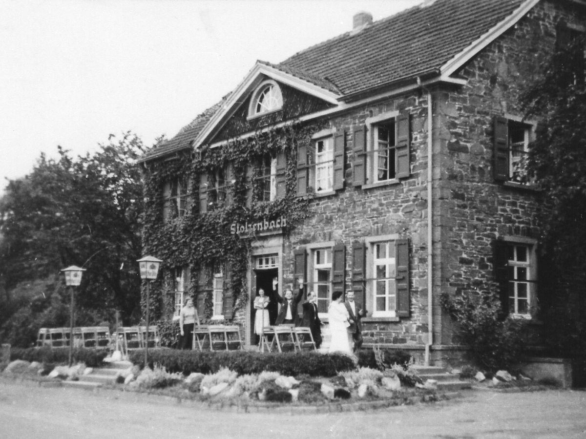 Haus Stolzenbach: historische Ansicht 1951