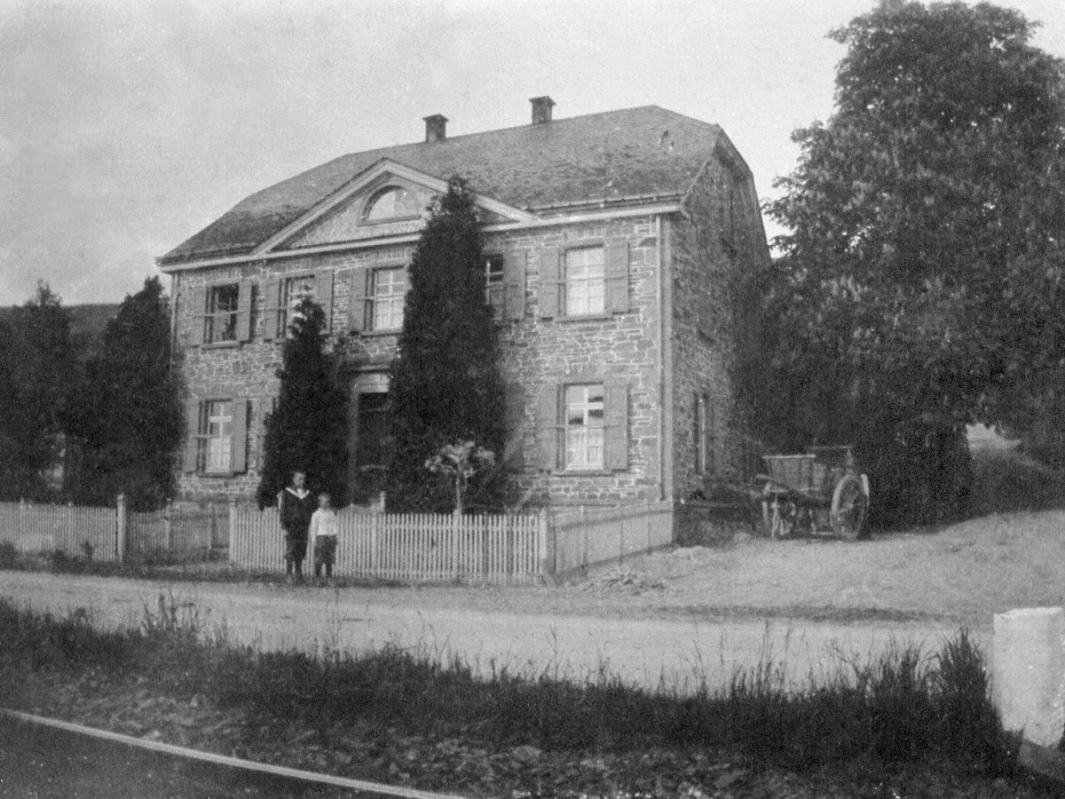 Haus Stolzenbach: historische Ansicht 1900